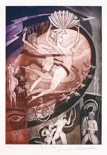 """Alfred Gockel: Bild """"Aphrodite"""" (2010), ungerahmt"""