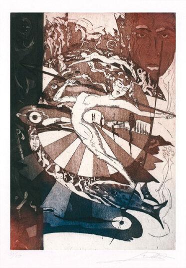 """Alfred Gockel: Bild """"Hera"""" (2010), ungerahmt"""