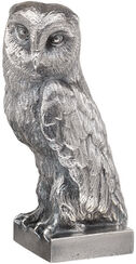 "Sculpture ""Owl"", silver-plated version"