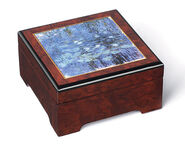 "Music Jewelry Box ""Water Lilies"" - by Claude Monet"