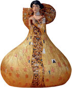 "Sculpture ""Golden Adele"" - by Gustav Klimt"