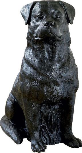"Ottmar Hörl: Sculpture ""Rottweiler"" (2010)"
