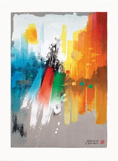 """Reinhard Brandner: Bild """"Primavera"""" (2013), ungerahmt"""