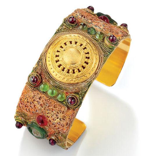 """Petra Waszak: Bracelet """"Aton Sun Wheel"""""""