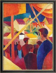 """Bild """"Seiltänzer"""" (1914), gerahmt"""