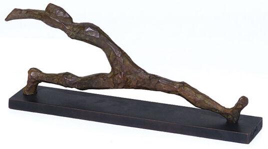 """Alexander Heil: Skulptur """"Großer Schritt"""" (2014), Bronze"""
