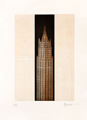 "Bild ""New York - Woolworth Building"", ungerahmt"