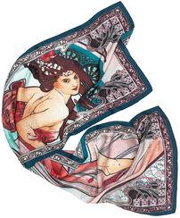 """Silk scarf """"La Danse"""""""