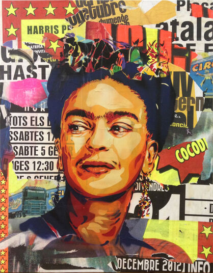 "BTOY: Bild ""Frida Kahlo"" (2013) (Unikat)"