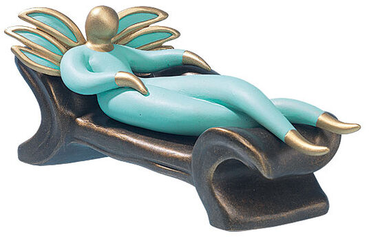 "Raffael Zahry: Skulptur ""Relax"""