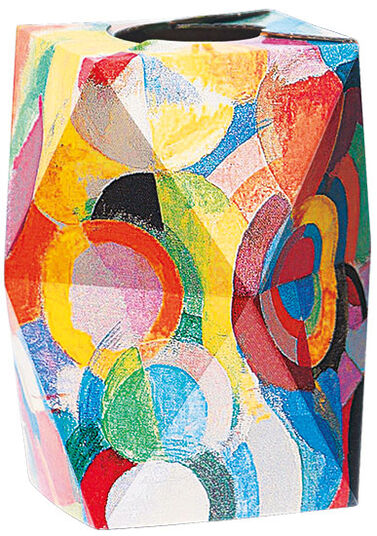 "SNUG.VASE LOW: ""Robert Delaunay - Homage to Blériot"" (1914)"