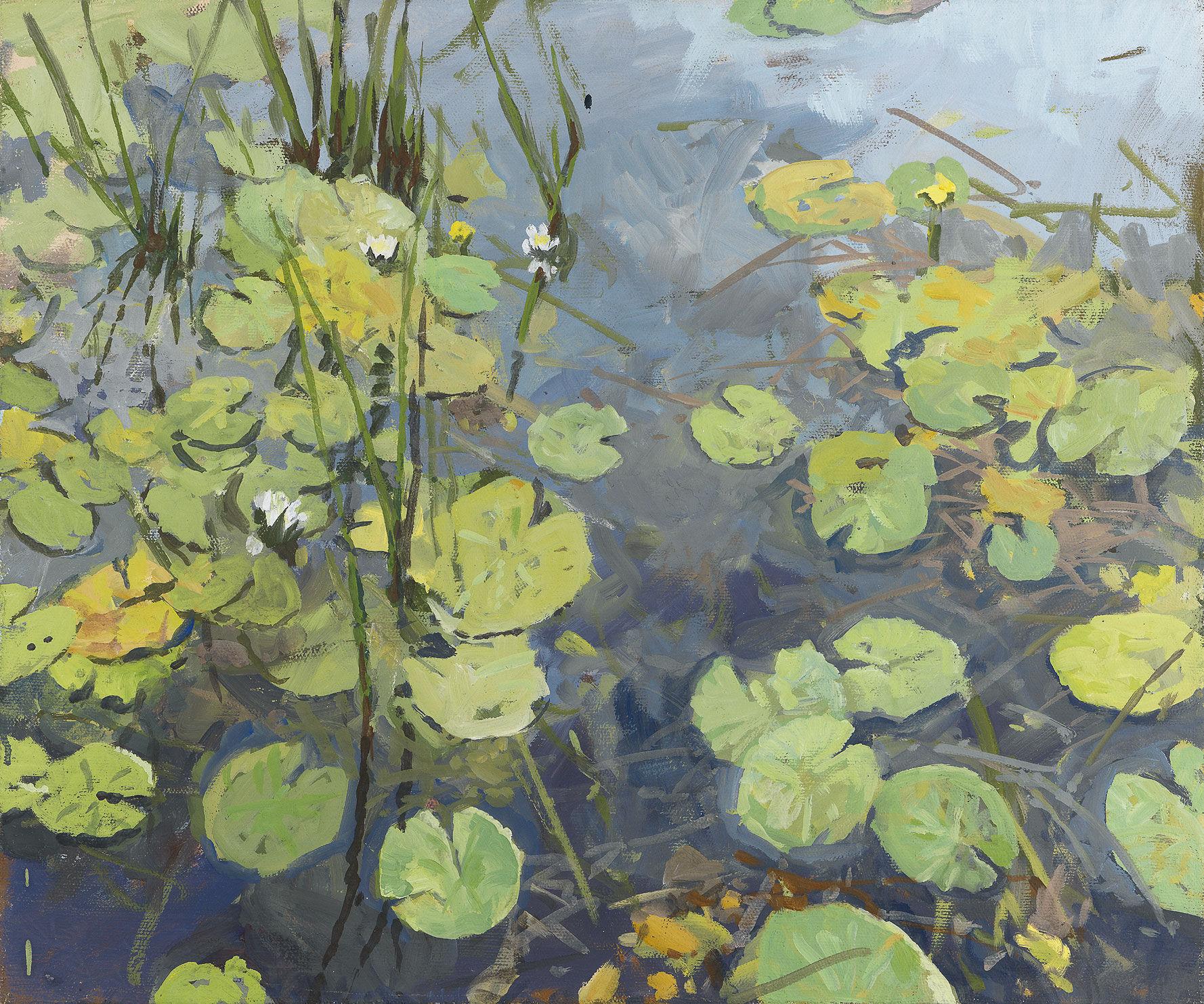 "Picture ""Water Lillies II"" (2010) (original / unique)"