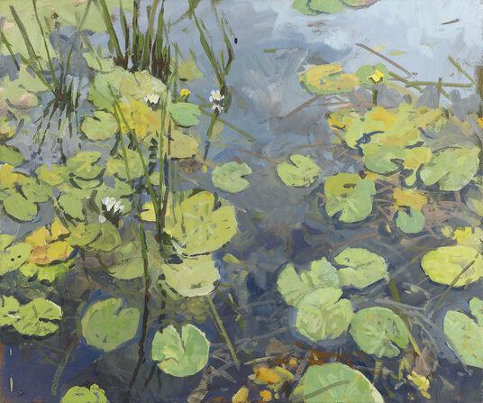"Frank Suplie: Picture ""Water Lillies II"" (2010) (original / unique)"