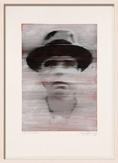 "Detlev van Ravenswaay: Bild ""Joseph Beuys"" (2015) (Unikat)"