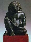 Statuette eines Schreibers