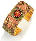 Bangle 'The Rosebush' - after Monet