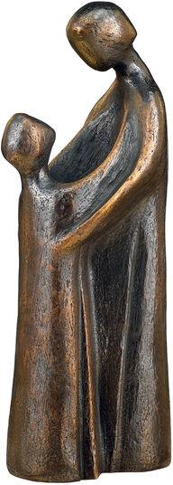 """Marita Müller: Sculpture """"Trust"""", bronze"""