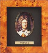 Miniature portrait of Friedrich I of Prussia (1657-1713)