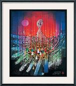 "Bild ""Namoani"" (1998), gerahmt"