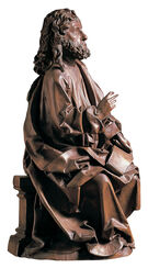 "Sculpture ""Evangelist Matthew"", Artificial Casting"
