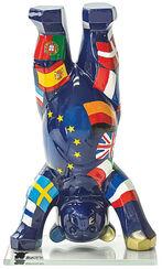 """""""United Buddy Bears""""-Miniatur """"Europa III"""", Kunstguss/Glas"""