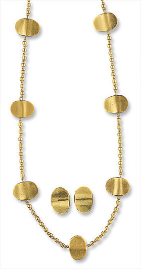 "Jewelry Set ""Gold Bars"""