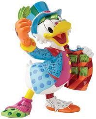 "Sculpture ""Uncle Scrooge - Scrooge McDuck"", Artificial Casting"