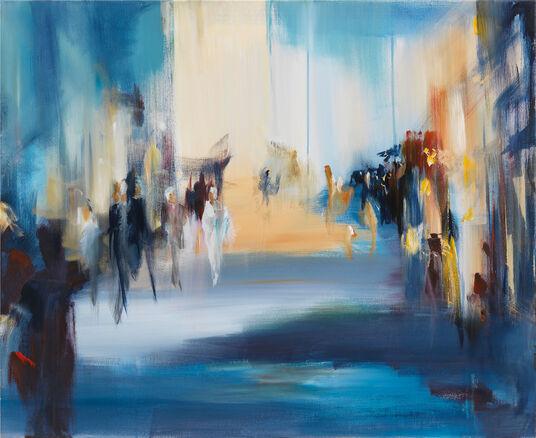 """Robert Hettich: Bild """"Im Lichtsalon"""" (2010)"""