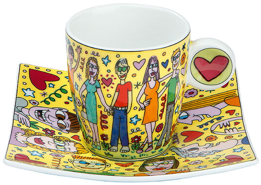 "James Rizzi: Espressotasse ""Cup of Love"""