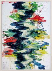 "Bild ""Fluss 2"" (2013) (Unikat)"