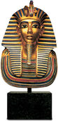 Gold Mask of Tutankhamun, Reduction