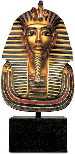 Gold Mask of Tutankhamun, Reduction