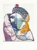 """Bild """"Portrait de femme au béret écossais"""" (1979-1982)"""