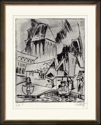 """Bild """"Alte Stadt"""" (1921)"""