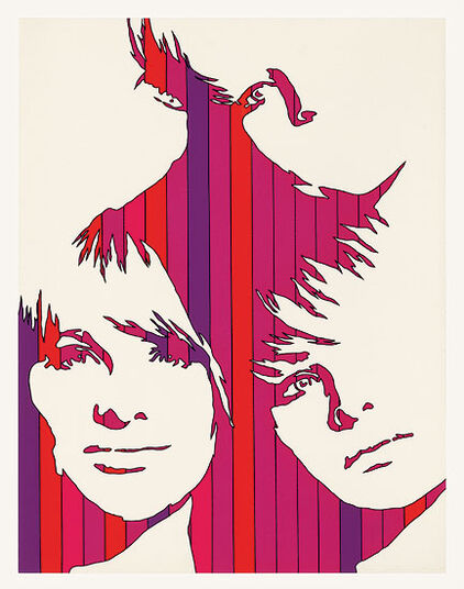 """Werner Berges: Bild """"Fast vier"""" (1971)"""