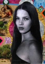 "Bild ""Kate Moss"" (2015) (Unikat)"