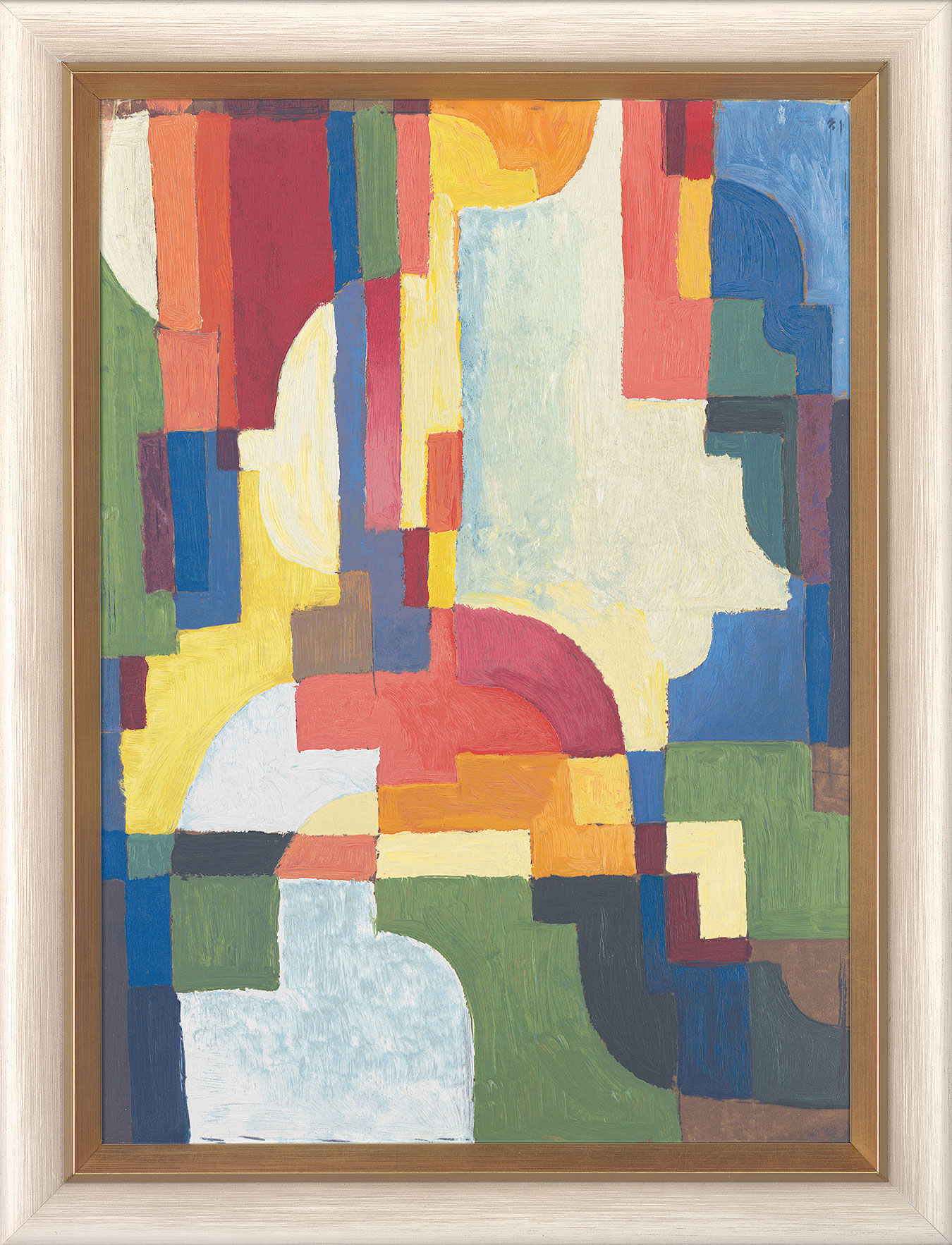 """Picture """"Coloured Forms I"""" (1913)"""