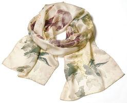 """Silk scarf """"Hommage à Manet"""""""