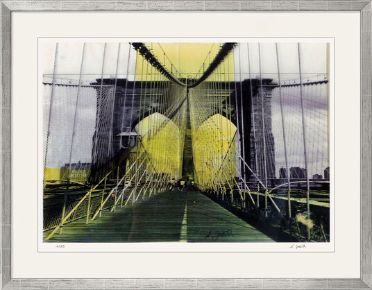"Angelika Jelich: Bild ""Brooklyn Bridge New York"" (2009)"