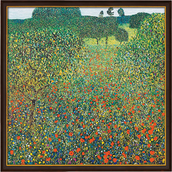 "Picture ""field with poppies"" (1905) into gallery Framing"
