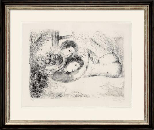 "Marc Chagall: Bild ""Akt am Fenster"" (1953/54)"