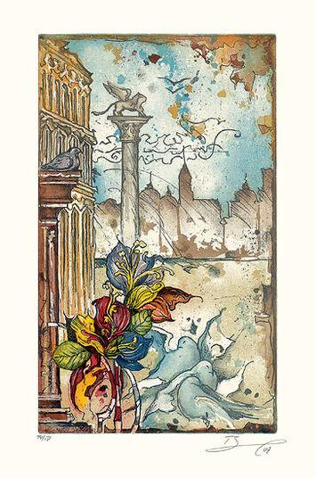 """Rüdiger Brassel: Bild """"Venedig I"""" (2007), ungerahmt"""