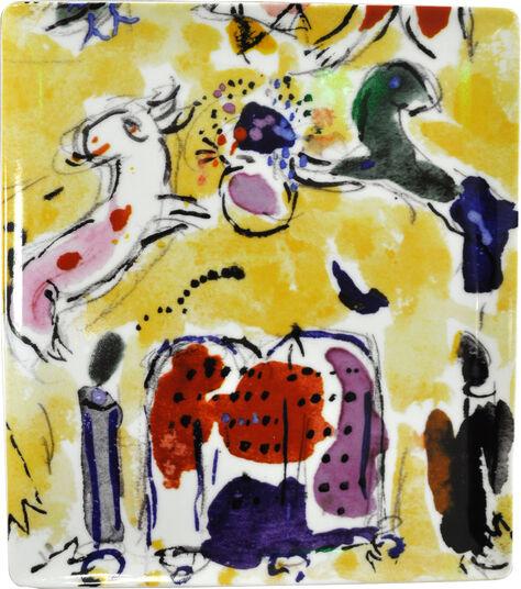 "Marc Chagall: Kollektion Les Vitraux d'Hadassah von Bernardaud - Porzellanschale ""Levi"""