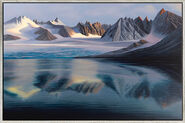 "Picture  ""Glacier Lake"" (2012)"