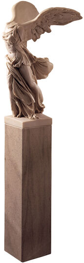 Sculpture 'Winged Victory of Samothrace' (102 cm), art casting