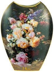 """Porzellanvase """"Stillleben mit Rosen"""", große Version"""