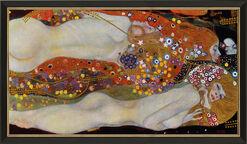 """Bild """"Wasserschlangen II"""" (um 1907), gerahmt"""