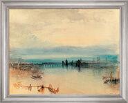 """Art print """"Konstanz"""" (1842), framed"""