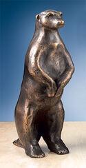 """Skulptur """"Erdmännchen I"""" (Höhe 20 cm), Bronze"""