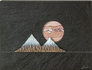 Wall object 'Mountains in the Full Moon'